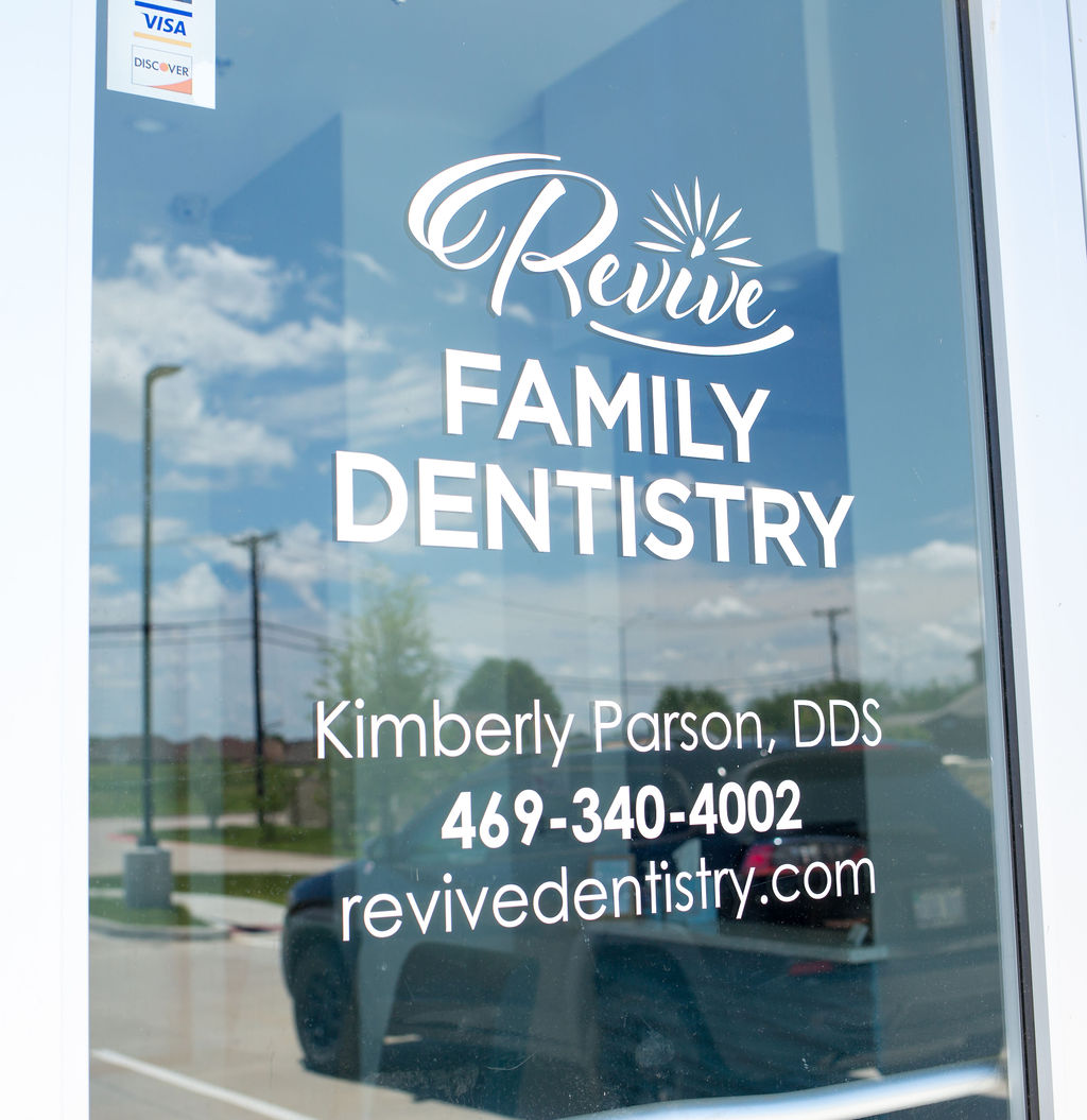 Revive Family Dentistry Front Door