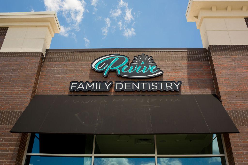 Logo Sign for Revive Family Dentistry